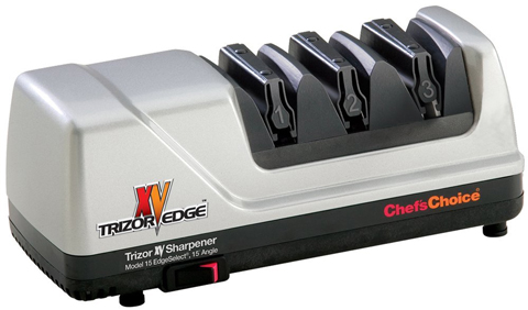 Chef's Choice 15 Trizor XV EdgeSelect Electric Knife Sharpener Review