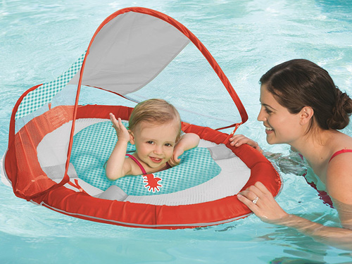 SwimWays Baby Spring Float Sun Canopy Review