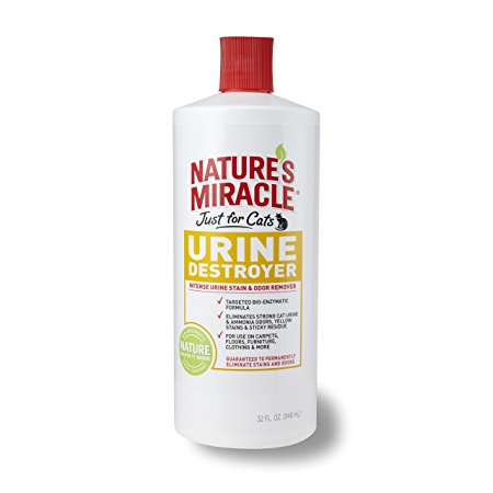 Nature's miracle just for cat urine destroyer Review