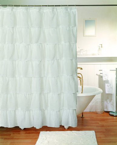 Gee Di Moda Gypsy Ruffled Shower Curtain Review