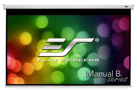 Elite Screens Manual Pull Down Projector Screen Review