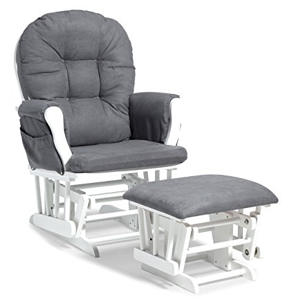 Stork Craft Glider and Ottoman Review
