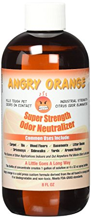 Angry orange pet odor eliminator Review