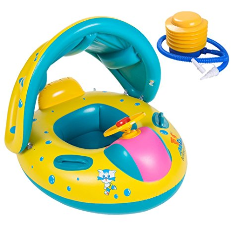 Uclever Baby Swimming Float Inflatable Seat Boat Review