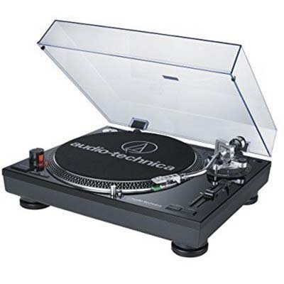 7. Audio-Technica AT-LP120BK Professional Turntable Review