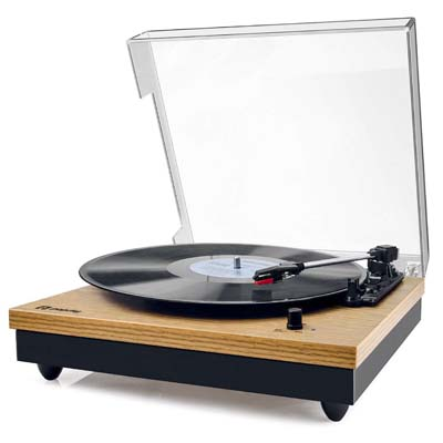 6. Popsky Vintage Turntable Bluetooth Record Player Review